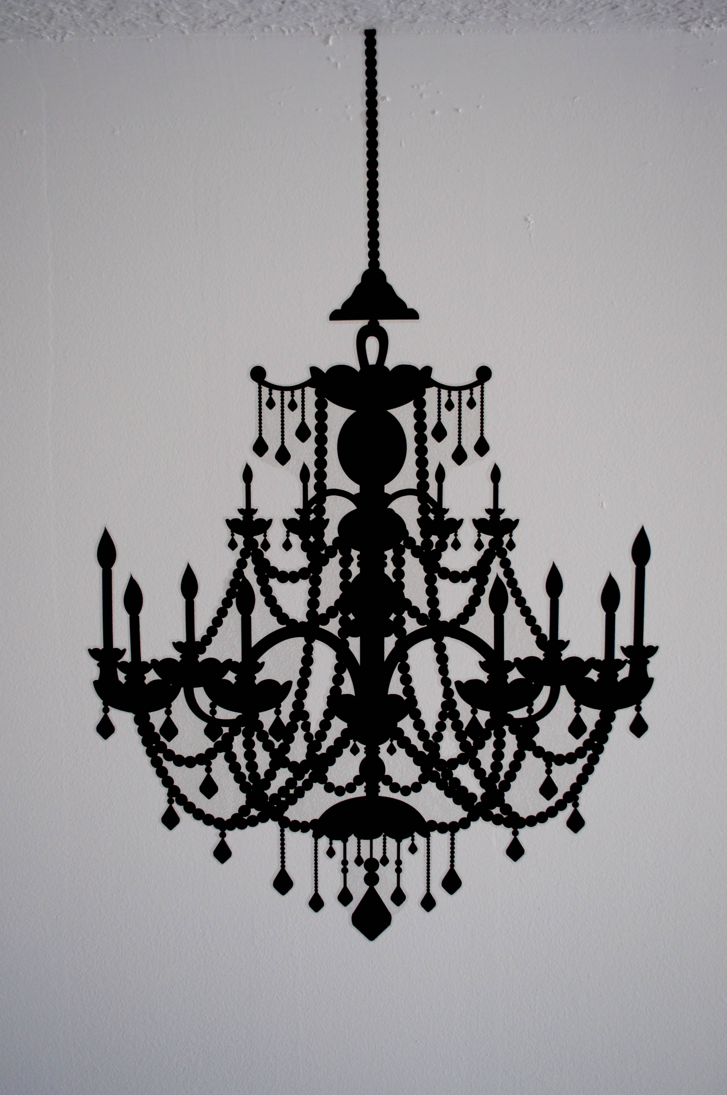 Chandelier wall decal target wall decals target with roommates unpeel and carefully stick each of the four decal pieces to the wall mozeypictures Images
